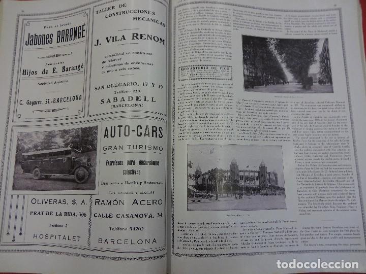 Libros antiguos: LAS MARAVILLAS DE ESPAÑA. Revista ilustrada trilingüe. Numero dedicado a Cataluña. Año 1929 - Foto 3 - 94403314