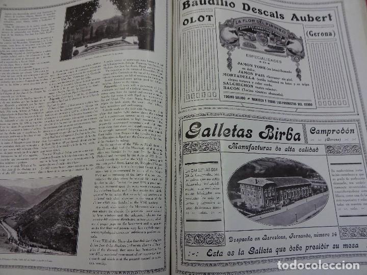 Libros antiguos: LAS MARAVILLAS DE ESPAÑA. Revista ilustrada trilingüe. Numero dedicado a Cataluña. Año 1929 - Foto 4 - 94403314