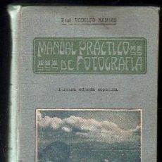 Libros antiguos: NAMIAS, RODOLFO.- MANUAL PRACTICO DE FOTOGRAFIA.- A-FOTO-465.. Lote 95766151