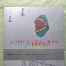 Libros antiguos: AGATHA RUIZ DE LA PRADA COLOR. DIBUIXOS I VESTITS. OBRA SOCIAL FUNDACIÓ LA CAIXA. BLISTER ORIGINAL. Lote 96024131