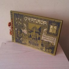 Libros antiguos: EMILIO CANET Y J.BARRERA - GRANADA ARTISTICA E INDUSTRIAL - LUJOSO ALBUM DE FOTOGRAFIAS DE 1910. Lote 98129959