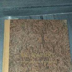 Libros antiguos: ANTIGUA CARPETA LIBRO DE COSTURA DISEÑO ROPA METODO CORTE Y CONFECCIÓN EL RÁPIDO MADRID AÑO 1947. Lote 143681686