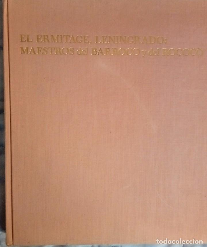 EL ERMITAGE LENINGRADO MAESTRO DEL BARROCO Y ROCOCO (Libros Antiguos, Raros y Curiosos - Bellas artes, ocio y coleccion - Diseño y Fotografía)