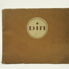 Libros antiguos: DIM, MEUBLE INSTALLE DÉCORE. MAISON PRINCIPALE 40 RUE DU COLISÉE, PARIS, C. 1925. 27,4X22CM. Lote 103014191