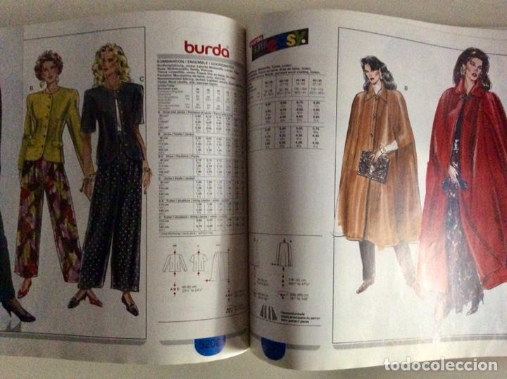 Libros antiguos: Anuario BURDA CARTAMODELLI MODA PATRÓN 1990 con más de 880pg y todas las medidas y patrones - Foto 12 - 106619899