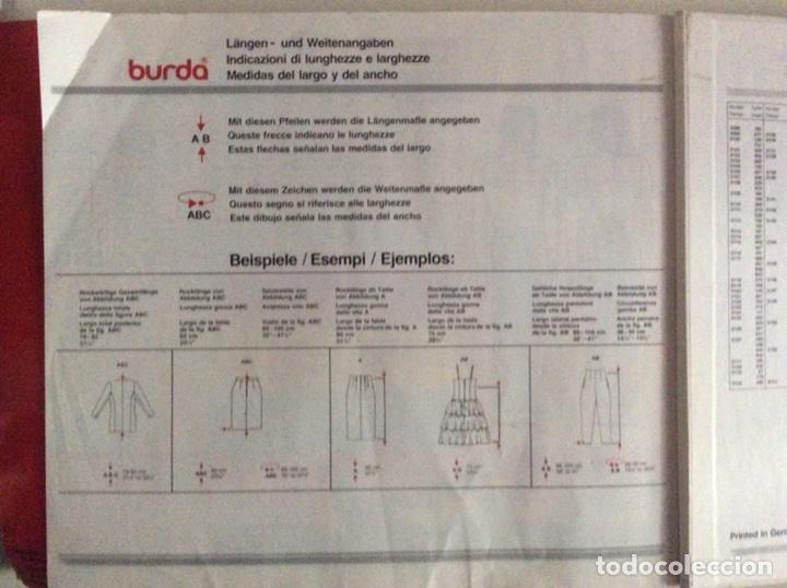 Libros antiguos: Anuario BURDA CARTAMODELLI MODA PATRÓN 1990 con más de 880pg y todas las medidas y patrones - Foto 16 - 106619899