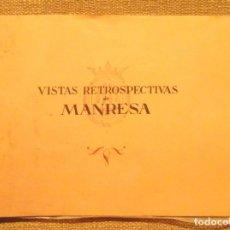 Libros antiguos: VISTAS RETROSPECTIVAS DE MANRESA CA 1910-1920 12 FOTOGRAFIES 23 X 16 CM. Lote 110681579