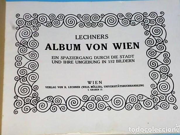 Libros antiguos: ALBUM VON WIEN - Foto 2 - 110753339