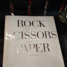 Libros antiguos: DESIGN ROCK. INFLUENCE SCISSORS, CONCEPT PAPER IMAGE. IGARASHI STUDIO. JAPAN. 1991. Lote 111271883