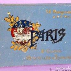 Libros antiguos: PARIS ET SES ENVIRONS. PARIS, ST. CLOUD, VERSAILLES & TRIANONS. 54 PHOTOGRAVURES DE N. D. PHOT.,. Lote 111464103