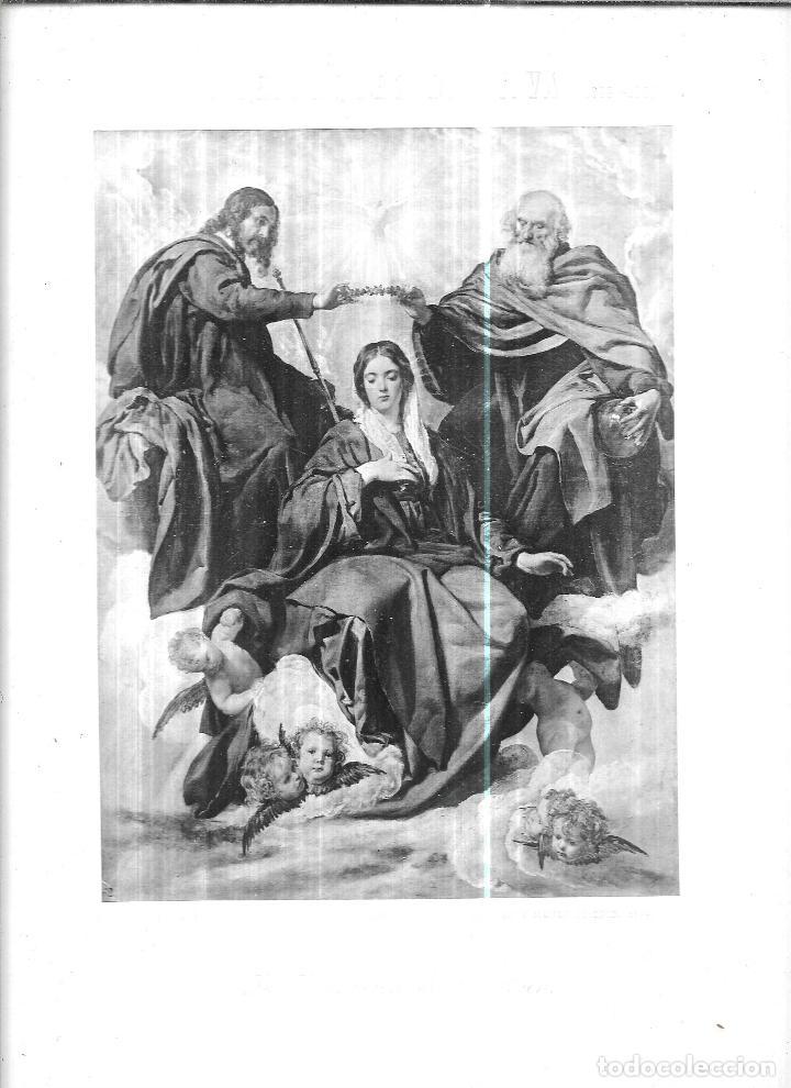 Libros antiguos: MUSEO DEL PRADO. ALBUM CONTENIENDO 120 REPRODUCCIONES EN FOTOTIPIA. HAUSER Y MENET. FOTOGRAFOS-EDIT. - Foto 5 - 111964963