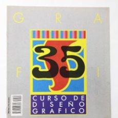 Libros antiguos: CURSO DE DISEÑO GRAFICO FASCICULO NUMº 35 EDITA ORBIS-FABBRI AÑO 89. Lote 112573035