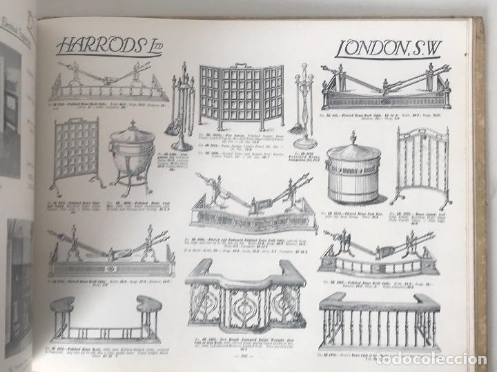 Libros antiguos: EXCELENTE LIBRO CATÁLOGO TARIFA FURNITURE BY HARRODS, ÚNICO. - Foto 13 - 113050771