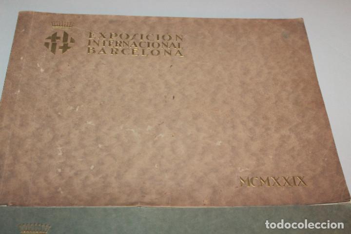 Libros antiguos: ÁLBUMES FOTOGRÁFICOS EXPOSICIÓN INTERNACIONAL BARCELONA 1929 - PUEBLO ESPAÑOL. INFORMACIÓN 34 FOTOS - Foto 2 - 115025119