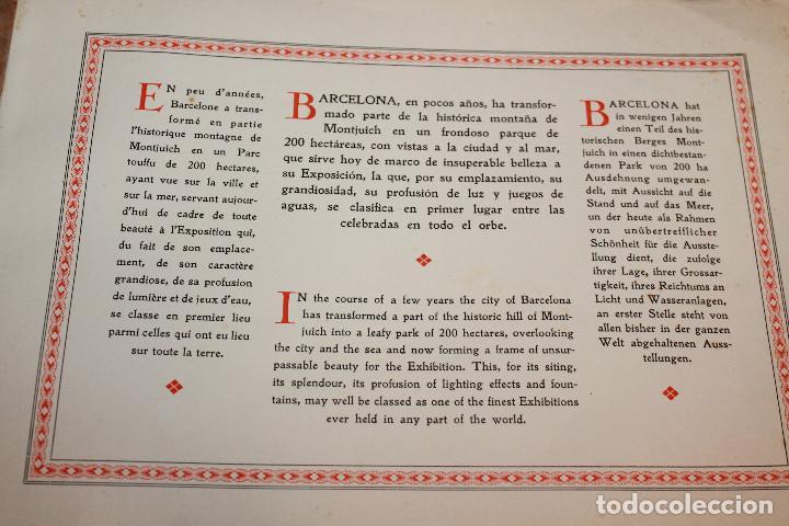 Libros antiguos: ÁLBUMES FOTOGRÁFICOS EXPOSICIÓN INTERNACIONAL BARCELONA 1929 - PUEBLO ESPAÑOL. INFORMACIÓN 34 FOTOS - Foto 9 - 115025119