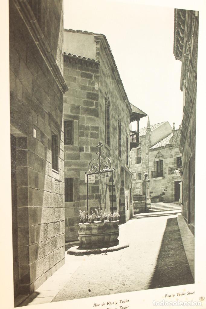 Libros antiguos: ÁLBUMES FOTOGRÁFICOS EXPOSICIÓN INTERNACIONAL BARCELONA 1929 - PUEBLO ESPAÑOL. INFORMACIÓN 34 FOTOS - Foto 26 - 115025119