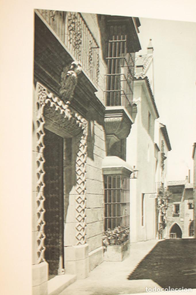 Libros antiguos: ÁLBUMES FOTOGRÁFICOS EXPOSICIÓN INTERNACIONAL BARCELONA 1929 - PUEBLO ESPAÑOL. INFORMACIÓN 34 FOTOS - Foto 31 - 115025119