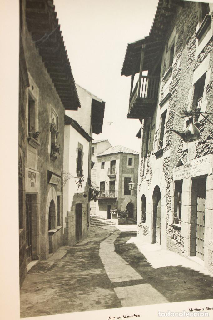Libros antiguos: ÁLBUMES FOTOGRÁFICOS EXPOSICIÓN INTERNACIONAL BARCELONA 1929 - PUEBLO ESPAÑOL. INFORMACIÓN 34 FOTOS - Foto 33 - 115025119