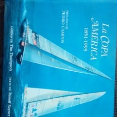Libros antiguos: LA COPA AMERICA 1851-1995 PROLOGO PEDRO CAMPO. Lote 115117491