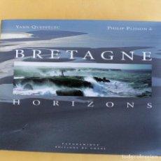 Livres anciens: BRETAGNE - HORIZONS - PHILIP PLISSON . Lote 116317111