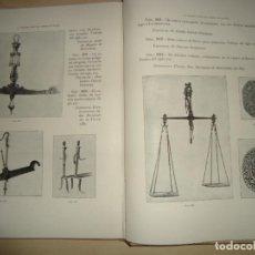Libros antiguos: EXPOSICIÓN DE HIERROS ESPAÑOLES CATÁLOGO PEDRO MIGUEL DE ARTÍÑANO Y GALDÁCANO 1919 NUEVO. Lote 117330071