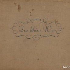 Libros antiguos: DAS SCHÖNE WIEN. WIEN: HANS EPSTEIN, 1925. ALBUM CON 64 FOTOGRAFÍAS DE VIENA. Lote 117453579