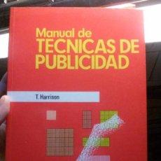 Alte Bücher - manual de tecnicas de publicidad, t. harrison, deusto. - 118285011