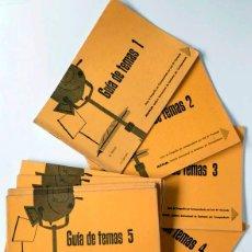 Libros antiguos: CURSO FOTOGRAFIA AFHA - GUIA DE TEMAS DEL 1AL 12, PAISAJE, RETRATO, COMPOSICIÓN, ILIMINACIÓN, ETC. Lote 118532431