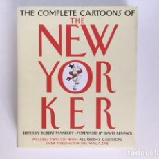Libros antiguos: THE COMPLETE CARTOONS OF THE NEW YORKER (PRIMERA EDICIÓN 2004. LIBRO + 2 CDS).. Lote 120522443