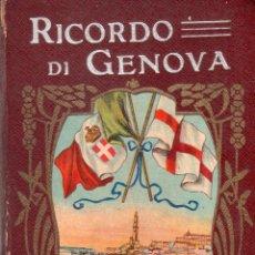 Libros antiguos: RICORDO DI GENOVA. 52 VEDUTE. EDIZIONE A. P. GENOVA.. Lote 121958763