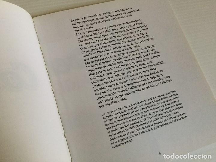 Libros antiguos: La historia gráfica del Cola Cao – Salvat - Foto 6 - 123002743
