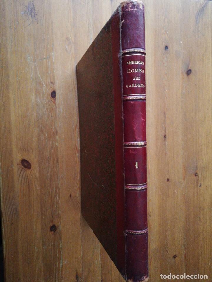 Libros antiguos: American Homes and Gardens. July-December. 1905 - Foto 3 - 125280495