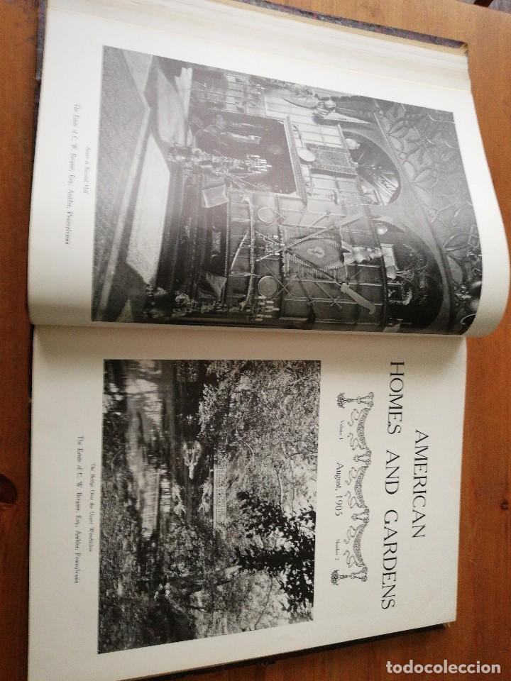 Libros antiguos: American Homes and Gardens. July-December. 1905 - Foto 12 - 125280495