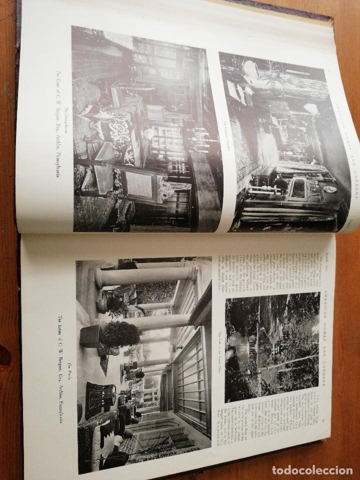 Libros antiguos: American Homes and Gardens. July-December. 1905 - Foto 13 - 125280495