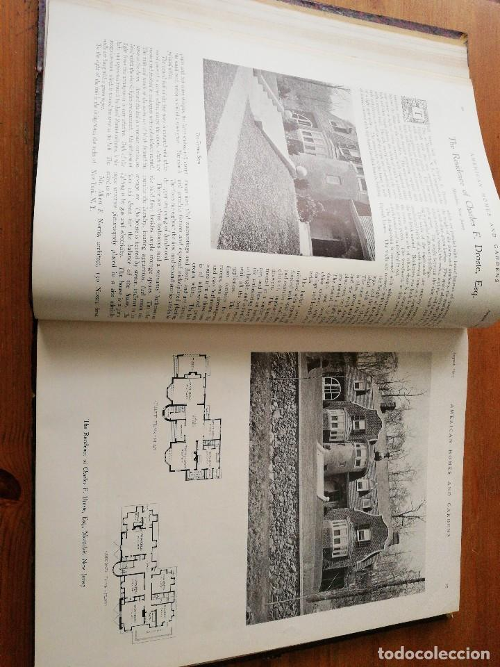 Libros antiguos: American Homes and Gardens. July-December. 1905 - Foto 14 - 125280495