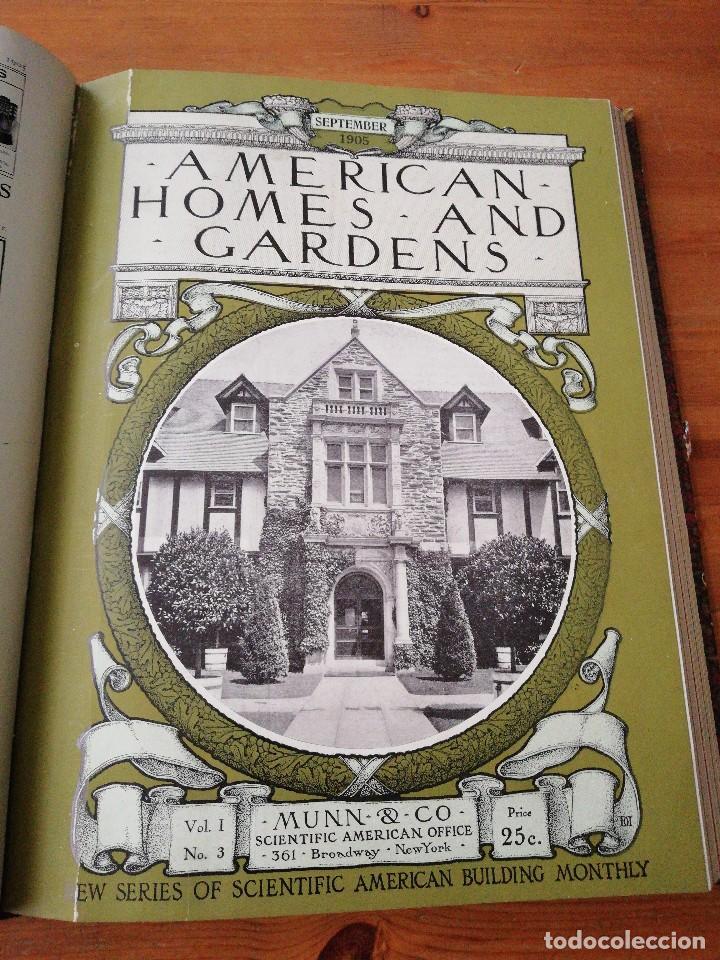 Libros antiguos: American Homes and Gardens. July-December. 1905 - Foto 16 - 125280495