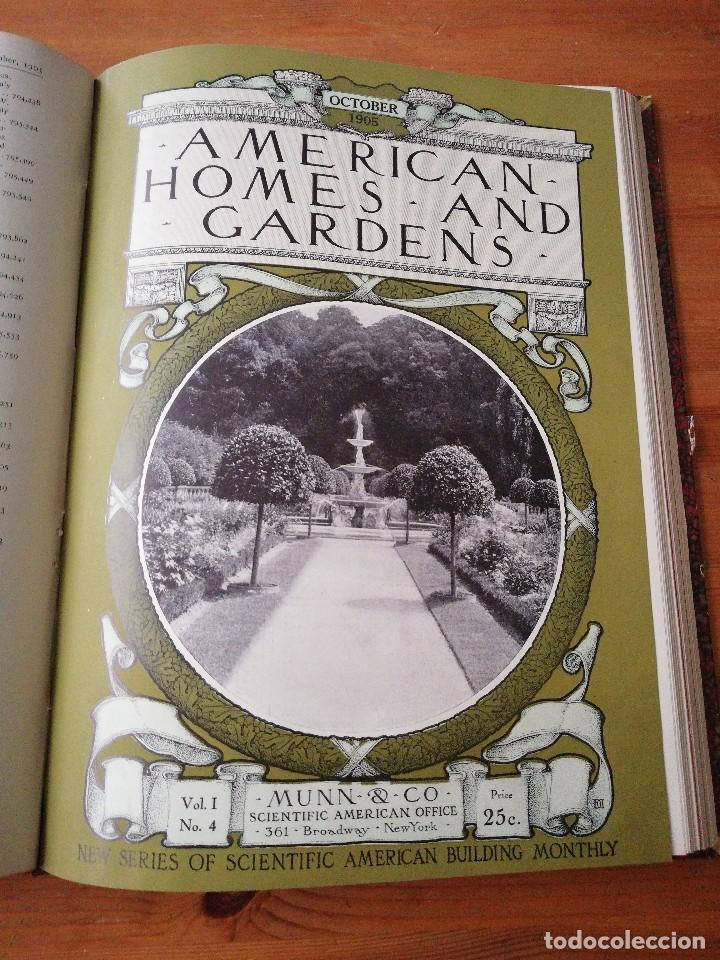 Libros antiguos: American Homes and Gardens. July-December. 1905 - Foto 21 - 125280495