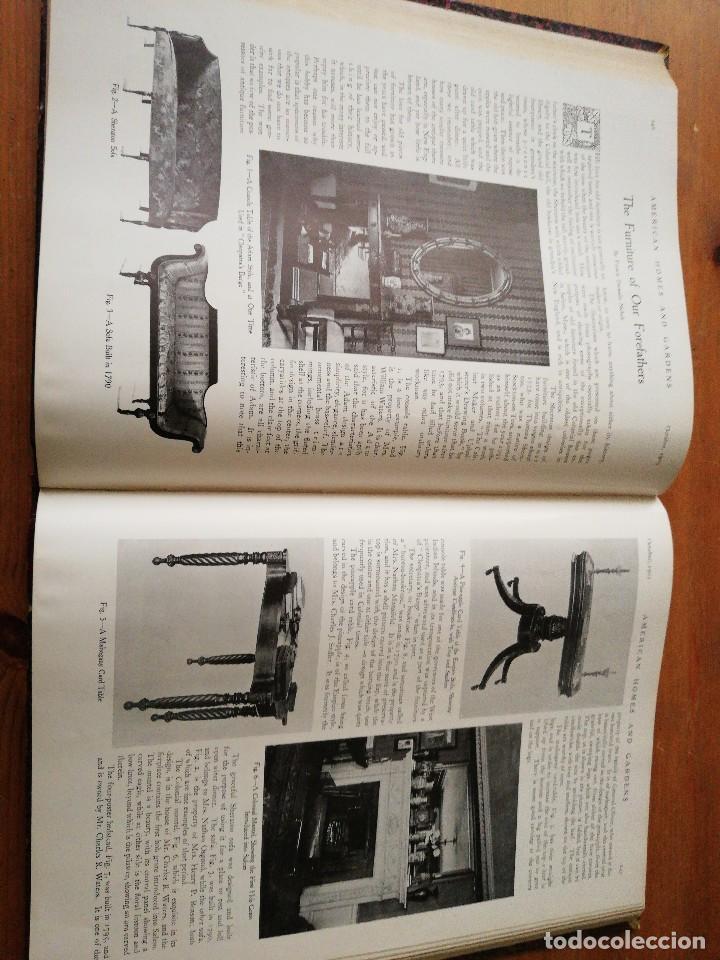 Libros antiguos: American Homes and Gardens. July-December. 1905 - Foto 24 - 125280495