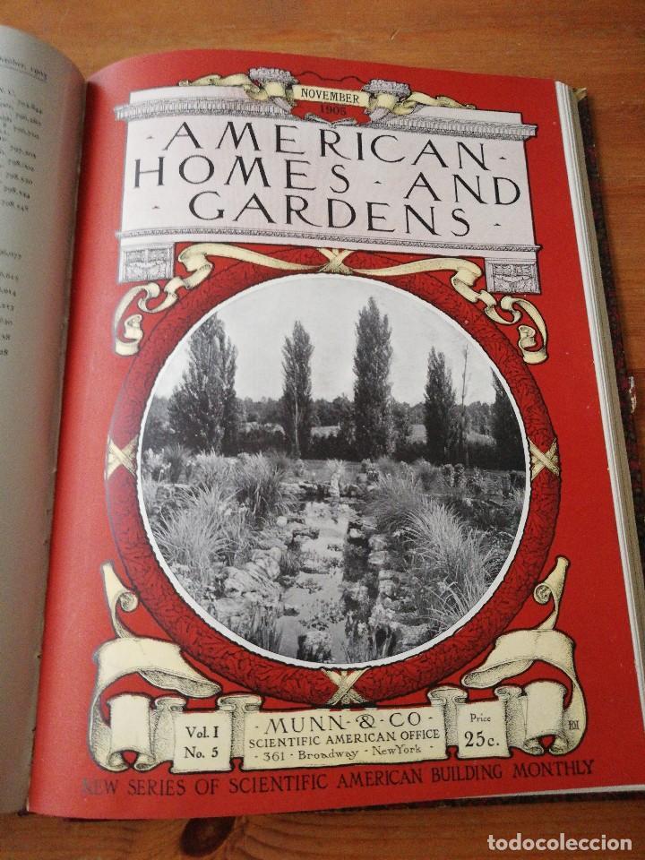 Libros antiguos: American Homes and Gardens. July-December. 1905 - Foto 25 - 125280495