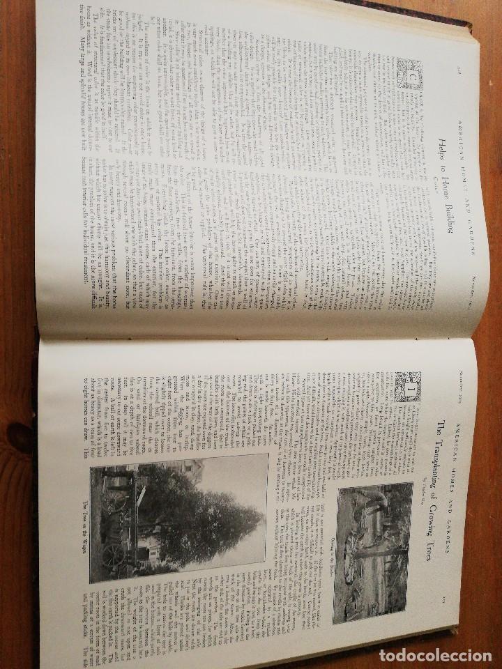 Libros antiguos: American Homes and Gardens. July-December. 1905 - Foto 28 - 125280495