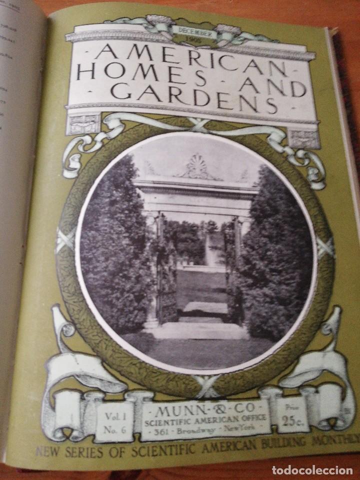 Libros antiguos: American Homes and Gardens. July-December. 1905 - Foto 29 - 125280495