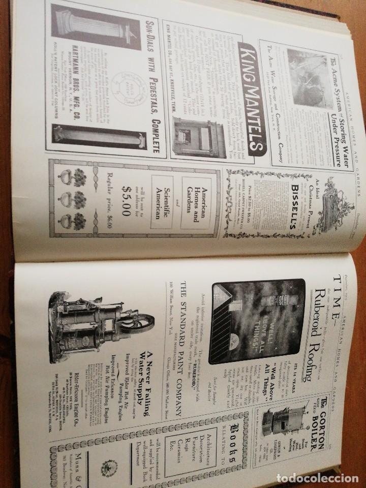 Libros antiguos: American Homes and Gardens. July-December. 1905 - Foto 31 - 125280495