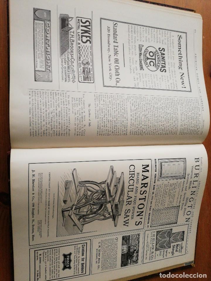 Libros antiguos: American Homes and Gardens. July-December. 1905 - Foto 36 - 125280495