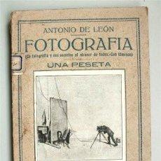 Libros antiguos: FOTOGRAFÍA. LA FOTOGRAFÍA Y SUS SECRETOS AL ALCANCE DE TODOS. PEQUEÑA ENCICLOPEDIA PRÁCTICA NÚM. 27 . Lote 125857743