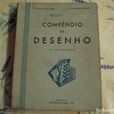 Libros antiguos: PRECIOSO COMPENDIO DE DISEÑO EN PORTUGUES. Lote 130578038