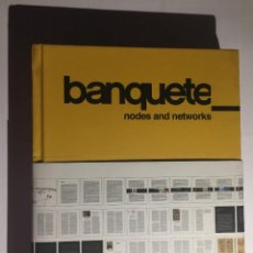 Libros antiguos: BANQUETE. NODES AND NETWORKS. Lote 132056302