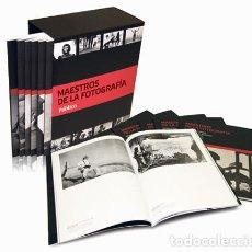 Libros antiguos: COLECCIÓN MAESTROS DE LA FOTOGRAFIA. PÚBLICO.. Lote 132105874