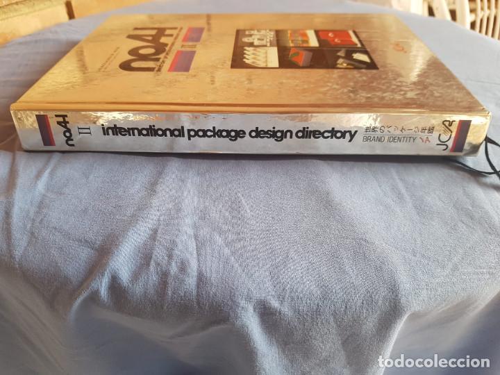 Libros antiguos: NOAH II. DIRECTORY OF INTERNATIONAL PACKAGE DESIGN. ( ingles y japones) libro de diseño y publicidad - Foto 2 - 132738574