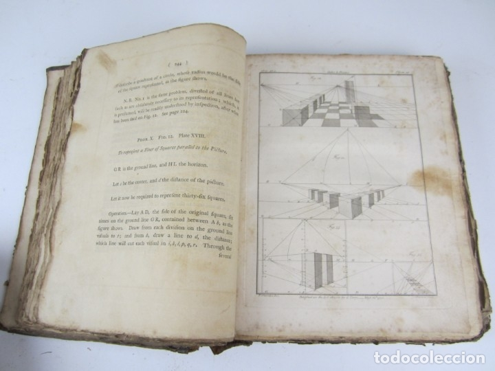 Libros antiguos: The Cabinet-Maker and Upholsterers Drawing-Book, Thomas Sheraton, 1791-1793, London. 23x30cm - Foto 6 - 133300098