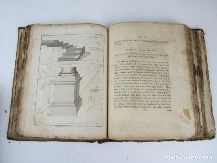 Libros antiguos: The Cabinet-Maker and Upholsterers Drawing-Book, Thomas Sheraton, 1791-1793, London. 23x30cm - Foto 7 - 133300098
